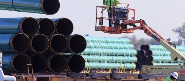 Charges that the U.S. pipeline industry