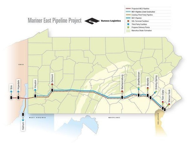 PA DEP Suspends Mariner East 2 Construction
